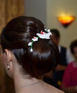 agrafa cu orhidee, nunta