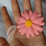 margareta pe suport organza – roz 27.5lei