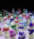 nightglow snowmans earrings, pendants, etc