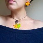 bijuterii frunze toamna