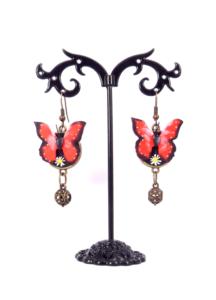 Cercei fluturi handmade