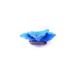 Brosa mac albastru cu seminte naturale, mac brosa, brosa mac, mac albastru, maci albastrii, mac, maci, seturi maci, maci handmade,