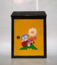 Cutii postale cu flori lucrate manual
