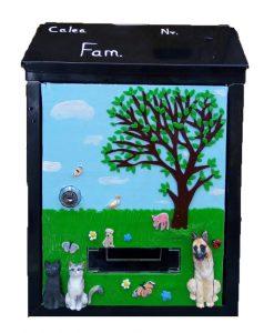 cutii postale cu animale